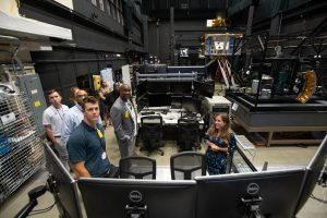 Goddard's Satellite Servicing Projects Division gave workshop attendees a behind the scenes look at their Robotic Operations Center.