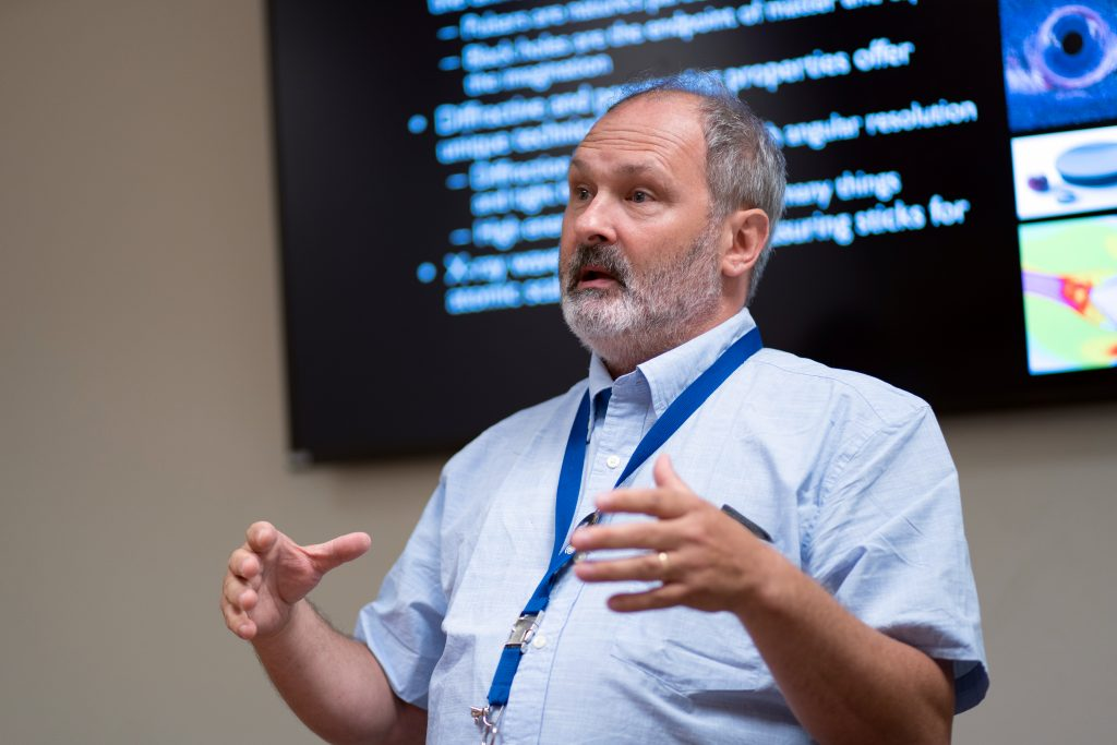 Keith Gendreau developed MXS to study black holes. Photo Credit: NASA/Taylor Mickal