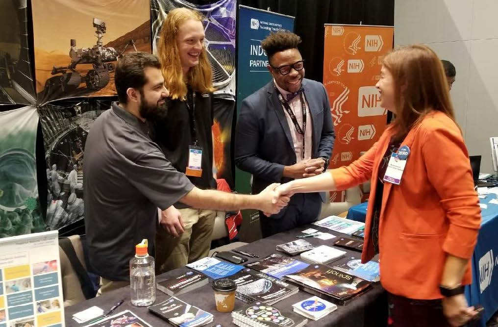 SPO participated in the Maryland Technology Development Corporation (TEDCO) Entrepreneur Expo on Oct. 29 in College Park, Maryland. Startups and tech companies in attendance networked with representatives from federal labs.