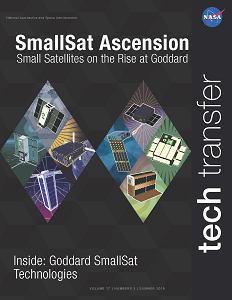 The Cover of the 2019 Summer SmallSat Magazine