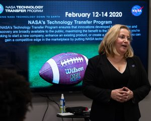 NASA's Johnson Space Center Associate Director Donna Shafer discusses the importance of technology and innovation.